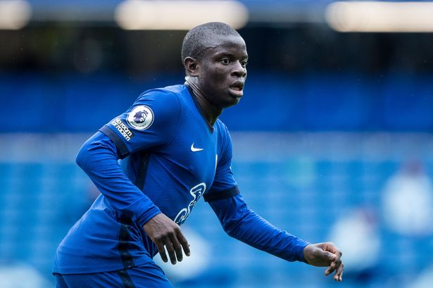 Kante chelsea leicester city